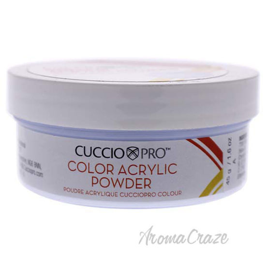 Picture of Colour Acrylic Powder - Peppermint Blue by Cuccio Pro for Women - 1.6 oz Acrylic Powder