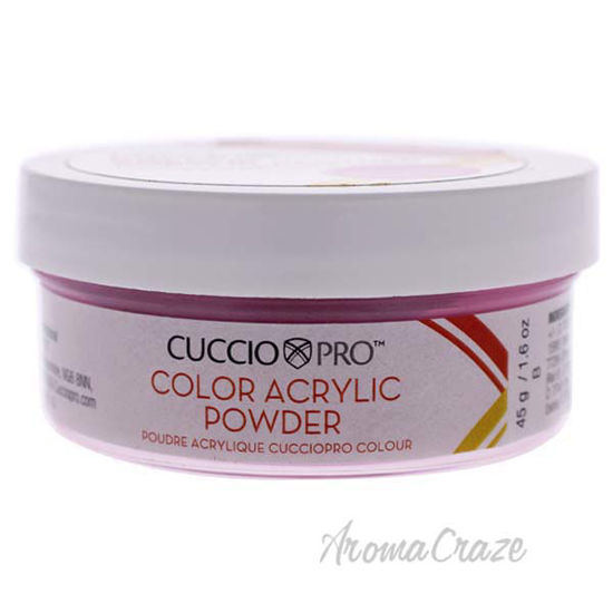 Picture of Colour Acrylic Powder - Strawberry Magenta by Cuccio Pro for Women - 1.6 oz Acrylic Powder
