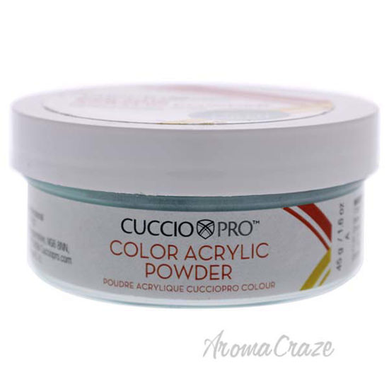Picture of Colour Acrylic Powder - Melon Green by Cuccio Pro for Women - 1.6 oz Acrylic Powder