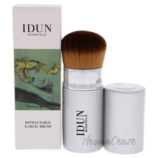 Retractable Kabuki Brush - 002 by Idun Minerals for Women -