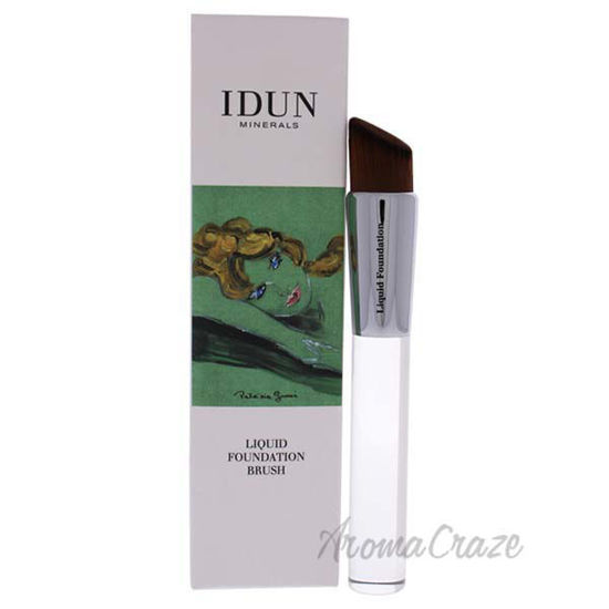 Liquid Foundation Brush - 004 by Idun Minerals for Women - 1