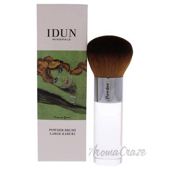 Large Powder Brush - 005 by Idun Minerals for Women - 1 Pc B