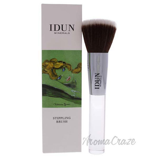 Stippling Brush - 011 by Idun Minerals for Women - 1 Pc Brus