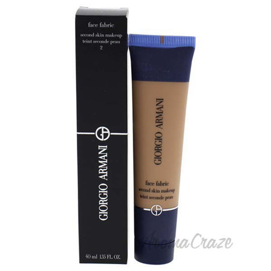 Face Fabric Second Skin Makeup - 2 by Giorgio Armani for Wom