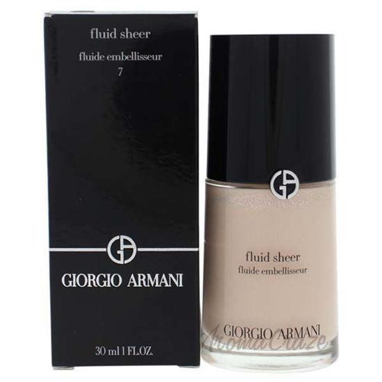 Fluid Sheer - 7 by Giorgio Armani for Women - 1 oz Highlight