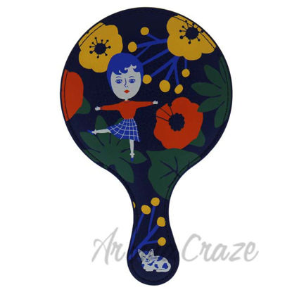 Picture of Aurore and Kitty Hand Mirror by Ooh Lala for Women - 1 Pc Mirror