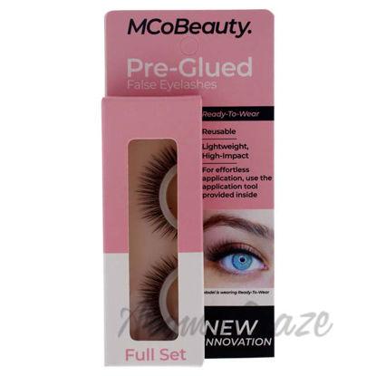 Picture of Pre-Glued False Eyelashes - Full Set by MCoBeauty for Women - 1 Pair Eyelashes