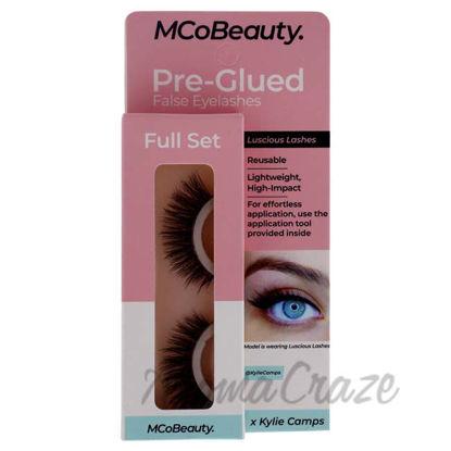 Picture of Pre-Glued False Eyelashes Luscious Lashes - Full Set by MCoBeauty for Women - 1 Pair Eyelashes