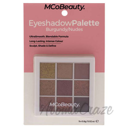Picture of Eyeshadow Palette - Burgundy-Nudes by MCoBeauty for Women - 0.02 oz
