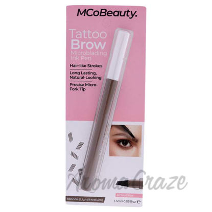 Picture of Tattoo Brow Microblading Ink Pen - Light-Medium by MCoBeauty for Women - 0.05 oz