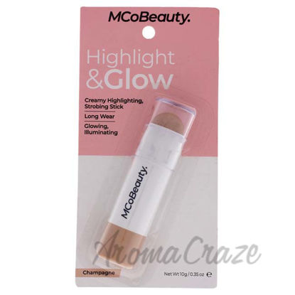Picture of Highlight and Glow Stick - Champagne by MCoBeauty for Women - 0.35 oz