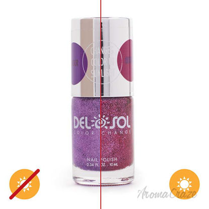 Picture of Color-Changing Nail Polish - After Party by DelSol for Women - 0.34 oz