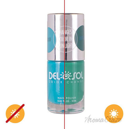 Picture of Color-Changing Nail Polish - Down to Earth by DelSol for Women - 0.34 oz