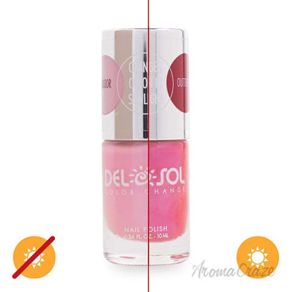 Picture of Color-Changing Nail Polish - Every Blooming Thing by DelSol for Women - 0.34 oz