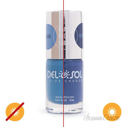 Picture of Color-Changing Nail Polish - Forever Blue by DelSol for Women - 0.34 oz