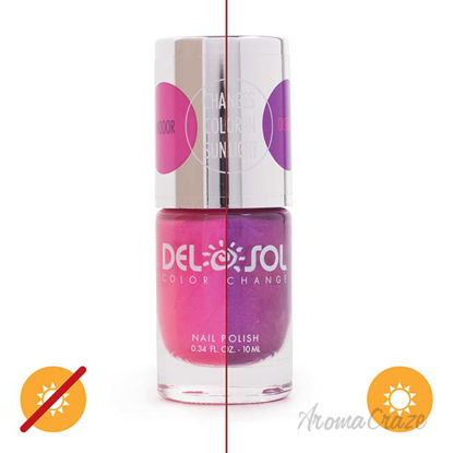 Picture of Color-Changing Nail Polish - Foxy by DelSol for Women - 0.34 oz
