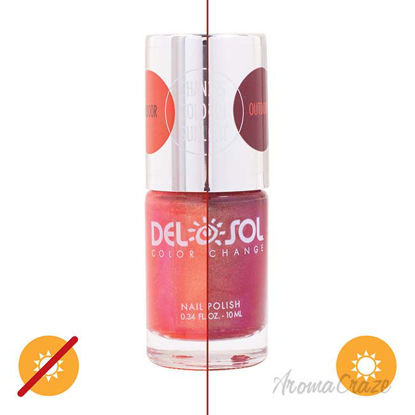 Picture of Color-Changing Nail Polish - Futures So Bright by DelSol for Women - 0.34 oz