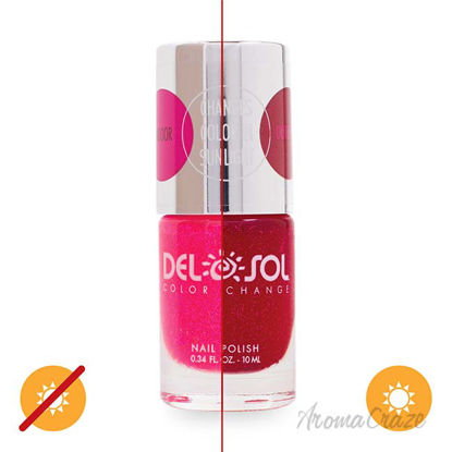 Picture of Color-Changing Nail Polish - Get Your Pink On by DelSol for Women - 0.34 oz
