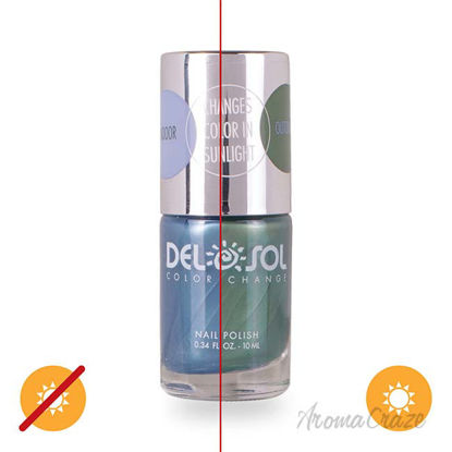 Picture of Color-Changing Nail Polish - Give Me Space by DelSol for Women - 0.34 oz