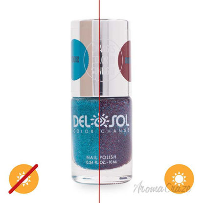 Picture of Color-Changing Nail Polish - Glitz and Glam by DelSol for Women - 0.34 oz