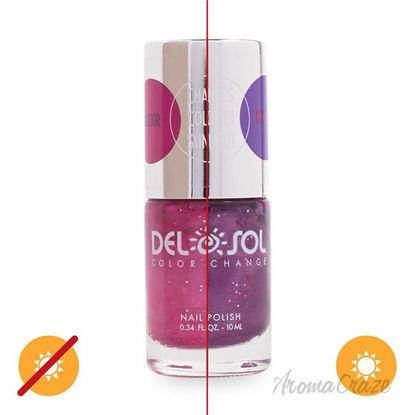 Picture of Color-Changing Nail Polish - Hottie by DelSol for Women - 0.34 oz