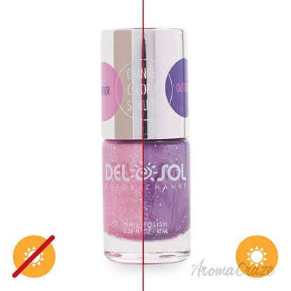 Picture of Color-Changing Nail Polish - Inside Out by DelSol for Women - 0.34 oz