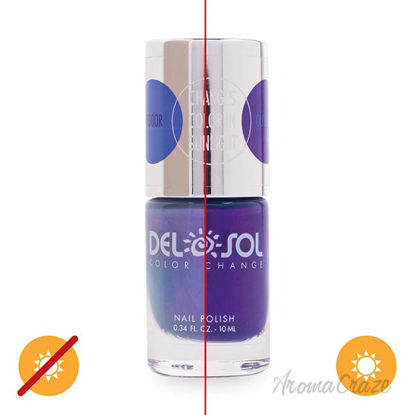 Picture of Color-Changing Nail Polish - Into the Blue by DelSol for Women - 0.34 oz