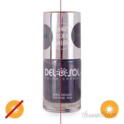 Picture of Color-Changing Nail Polish - Lost in Space by DelSol for Women - 0.34 oz