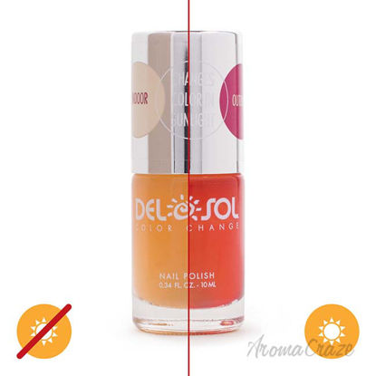 Picture of Color-Changing Nail Polish - Peek-a-Boo by DelSol for Women - 0.34 oz
