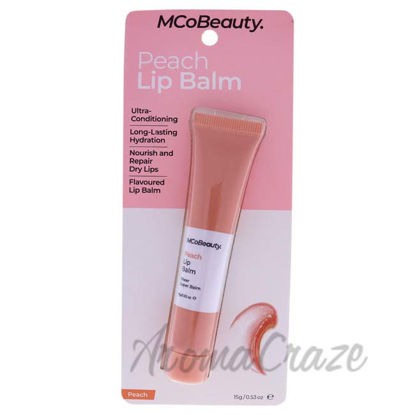 Picture of Lip Balm - Peach by MCoBeauty for Women - 0.53 oz