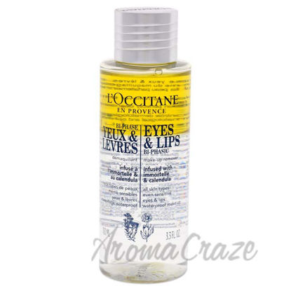 Picture of Eyes and Lips Bi-Phasic by LOccitane for Unisex - 3.3 1 Pc