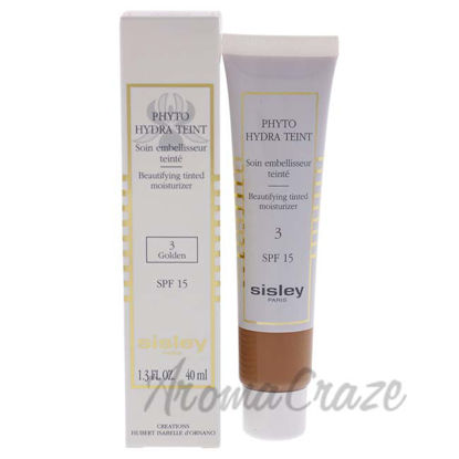 Picture of Phyto Hydra Teint Beautifying Tinted Moisturizer SPF 15 - 03 Golden by Sisley for Women - 1.3 oz