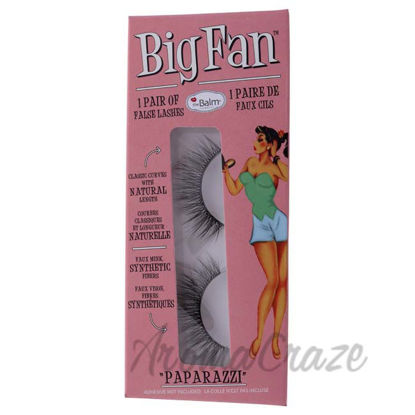 Picture of Big Fan Paparazzi - Natural by the Balm for Women - 1 Pair Eyelashes