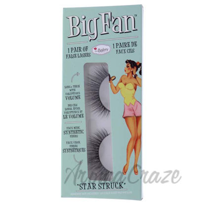 Picture of Big Fan Star Struck - Volume by the Balm for Women - 1 Pair Eyelashes