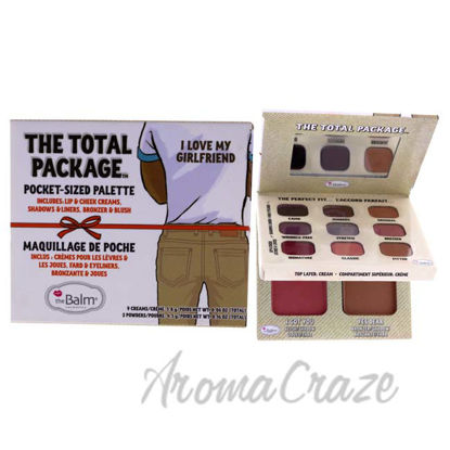 Picture of The Total Package - Khaki-I Love My Girlfriend by the Balm for Women - 1 Pc Palette