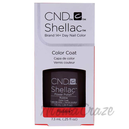 Picture of Shellac Nail Color - Rubble by CND for Women - 0.25 oz