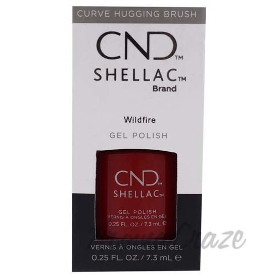 Picture of Shellac Nail Color - Wildfire by CND for Women - 0.25 oz