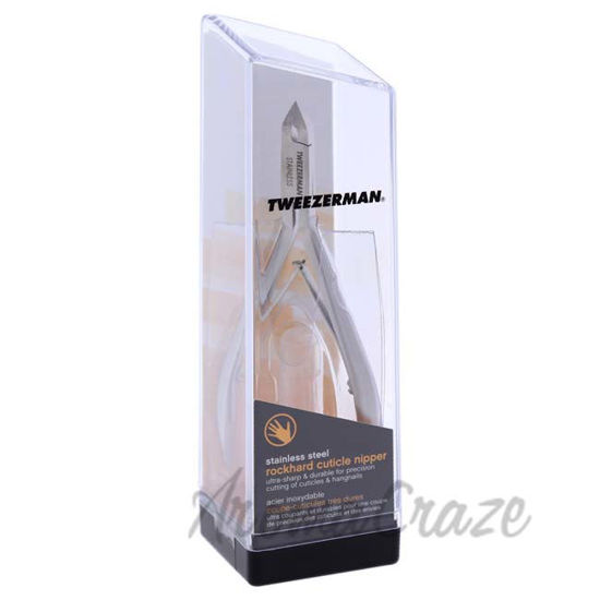 Picture of Rockhard Stainless Cuticle Nipper by Tweezerman for Unisex - 1 Pc Cuticle Nipper