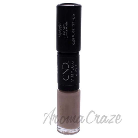 Picture of VInylux 2-In-1 Long Wear - 185 Field Fox by CND for Women - 0.25 oz