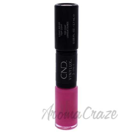 Picture of VInylux 2-In-1 Long Wear - 121 Hot Pop PInk by CND for Women - 0.25 oz