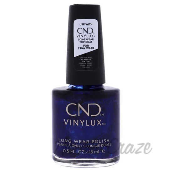 Picture of Vinylux Nail Polish - 332 Sassy Sapphire by CND for Women - 0.5 oz