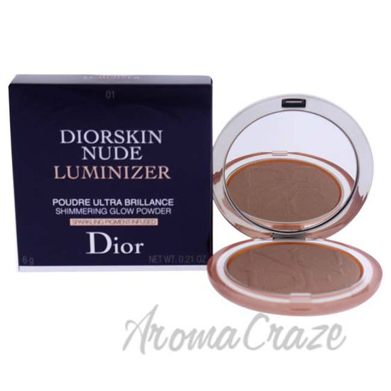 Picture of Diorskin Nude Luminizer Powder - 01 Nude Glow by Christian Dior for Women - 0.21 oz