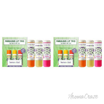 Picture of Fabulous Lip Balm Trio   by Human+kind for Unisex