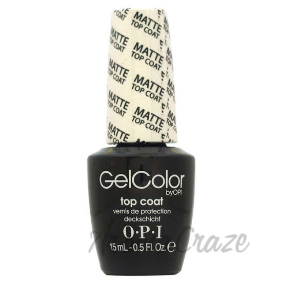 Picture of GelColor Soak-Off Gel Lacquer - 031 Matte Top Coat by OPI for Women - 0.5 oz