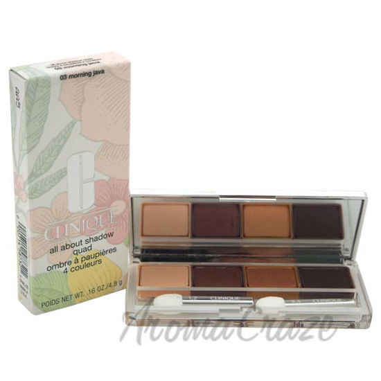 Picture of All About Shadow Quad - # 03 Morning Java by Clinique for Women - 0.16 oz
