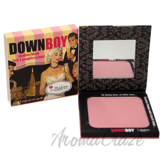 Picture of DownBoy Shadow/Blush - Pink by the Balm for Women - 0.35 oz