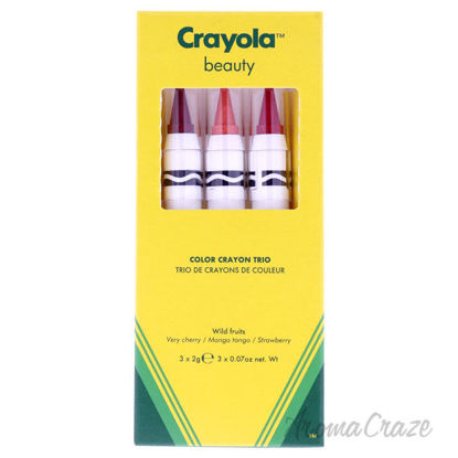 Picture of Color Crayon Trio - Wild Fruits by Crayola for Women - 3 x 0.07 oz Lipstick