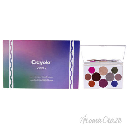 Picture of Eyeshadow Palette - Tropical by Crayola for Women - 0.63 oz Eyeshadow