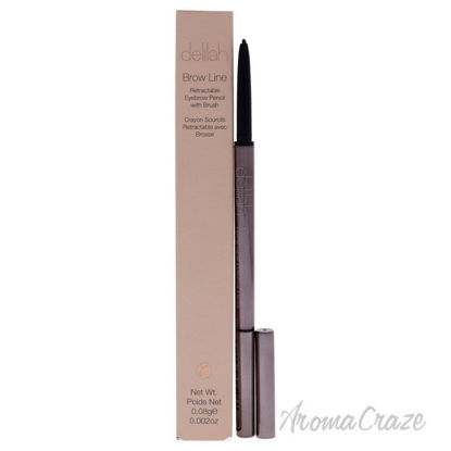 Picture of Brow Line Retractable Eyebrow Pencil With Brush - Sable by Delilah for Women - 0.002 oz Eyebrow