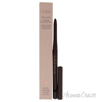 Picture of Eye Line Long Wear Retractable Pencil - Coal by Delilah for Women - 0.011 oz Eyeliner